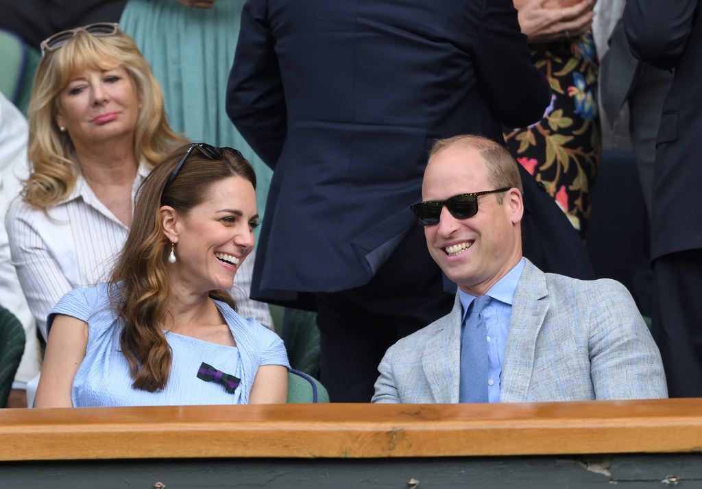 Prince William and Kate Middleton Wimbledon 2019 L.G.R model Suez